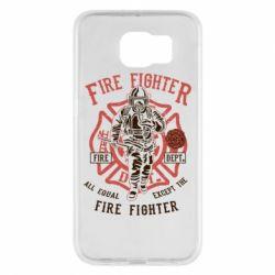 Чохол для Samsung S6 Fire Fighter
