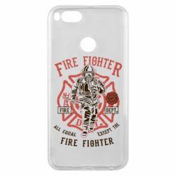 Чохол для Xiaomi Mi A1 Fire Fighter
