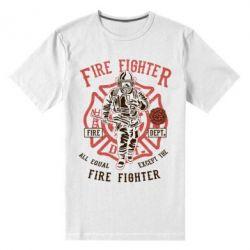 Чоловіча стрейчева футболка Fire Fighter