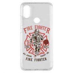 Чохол для Xiaomi Mi A2 Fire Fighter
