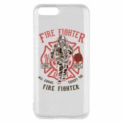 Чохол для Xiaomi Mi6 Fire Fighter