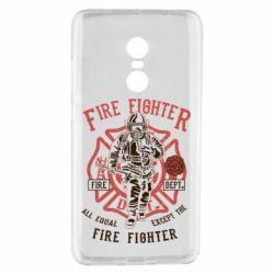 Чохол для Xiaomi Redmi Note 4 Fire Fighter