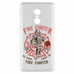 Чохол для Xiaomi Redmi Note 4x Fire Fighter