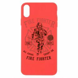 Чохол для iPhone X/Xs Fire Fighter