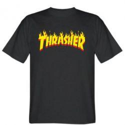 Мужская футболка Fire Thrasher - FatLine