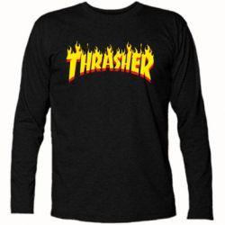 Футболка с длинным рукавом Fire Thrasher - FatLine