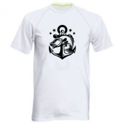 Мужская спортивная футболка Fish and Anchor