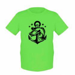 Детская футболка Fish and Anchor