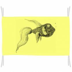 Флаг Fish consists of circle drawings
