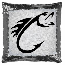 Подушка-хамелеон Fish Hook