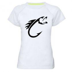 Жіноча спортивна футболка Fish Hook
