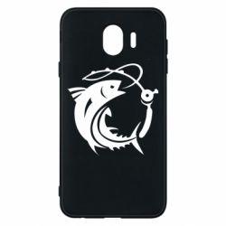 Чохол для Samsung J4 Fish on the hook
