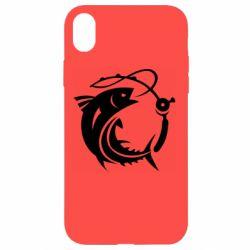 Чохол для iPhone XR Fish on the hook