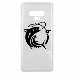 Чохол для Samsung Note 9 Fish on the hook