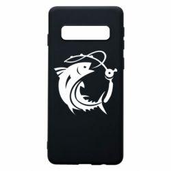Чохол для Samsung S10 Fish on the hook