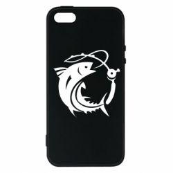 Чохол для iphone 5/5S/SE Fish on the hook