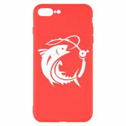 Чохол для iPhone 8 Plus Fish on the hook