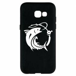 Чохол для Samsung A5 2017 Fish on the hook