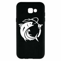Чохол для Samsung A7 2017 Fish on the hook