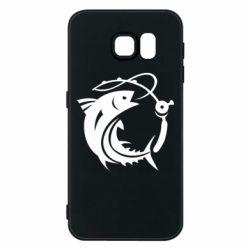 Чохол для Samsung S6 Fish on the hook