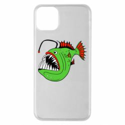 Чехол для iPhone 11 Pro Max Fish with a lamp