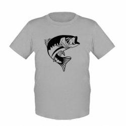 Дитяча футболка Fish