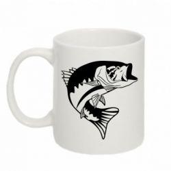 Кружка 320ml Fish