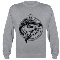 Реглан (свитшот) Fish