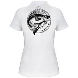 Жіноча футболка поло Fish