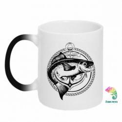 Кружка-хамелеон Fish