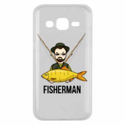Чохол для Samsung J2 2015 Fisherman and fish