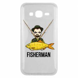 Чохол для Samsung J5 2015 Fisherman and fish