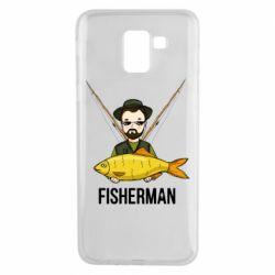 Чохол для Samsung J6 Fisherman and fish