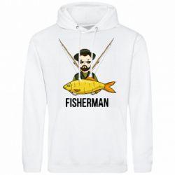 Чоловіча толстовка Fisherman and fish