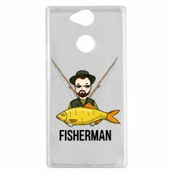 Жіноча футболка поло Fisherman and fish