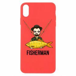 Чохол для iPhone Xs Max Fisherman and fish