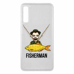 Чохол для Samsung A7 2018 Fisherman and fish
