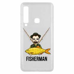 Майка чоловіча Fisherman and fish