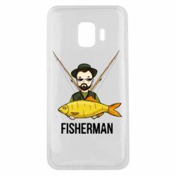 Чохол для Samsung J2 Core Fisherman and fish