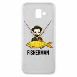 Чохол для Samsung J6 Plus 2018 Fisherman and fish