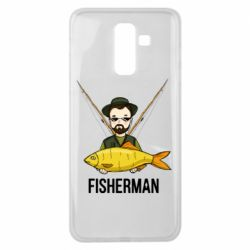 Чохол для Samsung J8 2018 Fisherman and fish