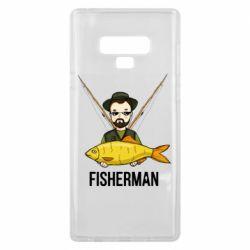 Чохол для Samsung Note 9 Fisherman and fish