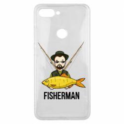 Чохол для Xiaomi Mi8 Lite Fisherman and fish