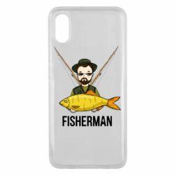Чохол для Xiaomi Mi8 Pro Fisherman and fish