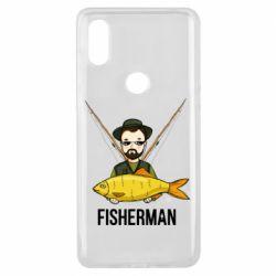 Чохол для Xiaomi Mi Mix 3 Fisherman and fish