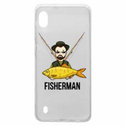 Чохол для Samsung A10 Fisherman and fish