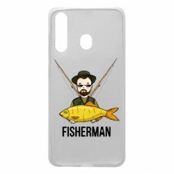 Чохол для Samsung A60 Fisherman and fish