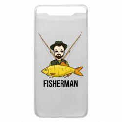 Чохол для Samsung A80 Fisherman and fish