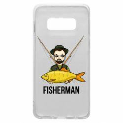 Чохол для Samsung S10e Fisherman and fish