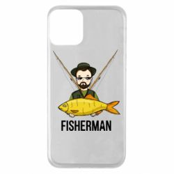 Чохол для iPhone 11 Fisherman and fish